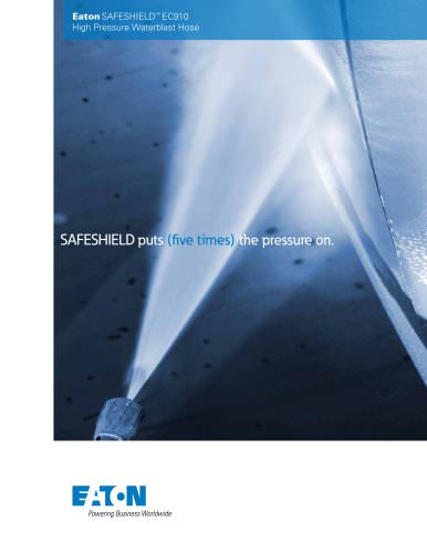 Eaton SAFESHIELD EC910 High Pressure Waterblast Hose