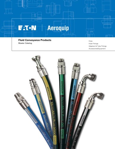 Guide to Aeroquip products - Master Catalog