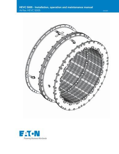 HEVC 5005 – Installation, operation and maintenance manual