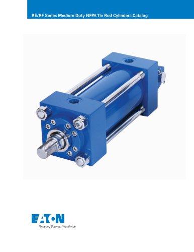 RE/RF Series Medium Duty NFPA Tie Rod Cylinders Catalog