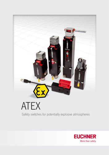 ATEX Safety switches for potentially explosive atmospheres