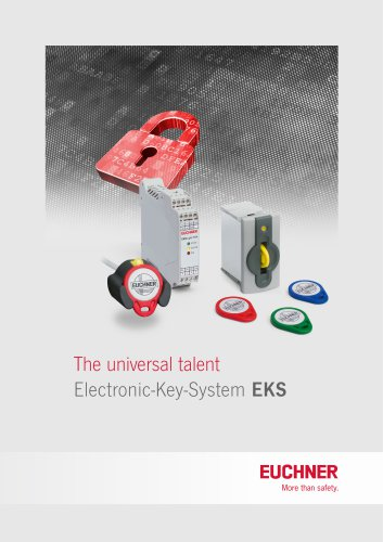 Electronic-Key-System EKS (Flyer)