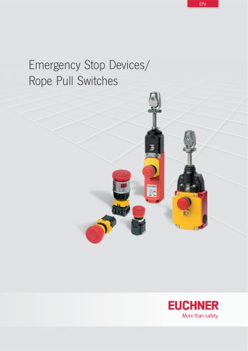 Emergency Stop Devices/Rope Pull Switches