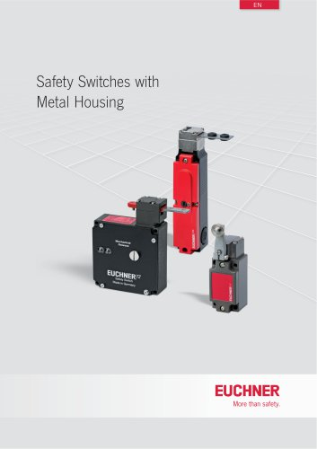 Safety Switches with Metal Housing