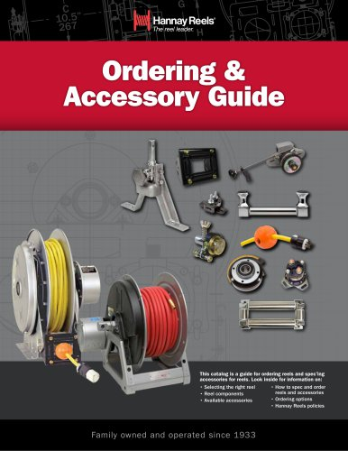 Ordering & Accessory Guide