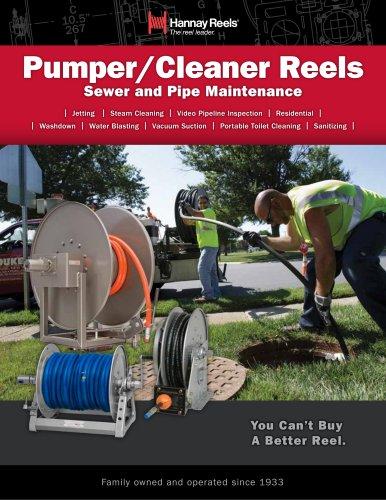 Pumper/Cleaner Reels