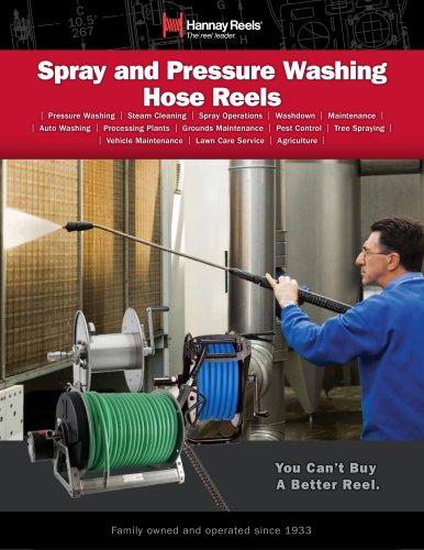 Spray and Pressure Washing Hose Reels