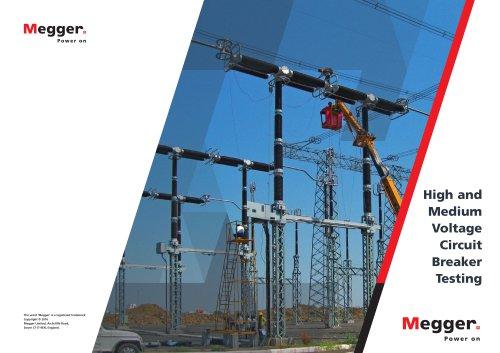 High and Medium Voltage Circuit Breaker Testing