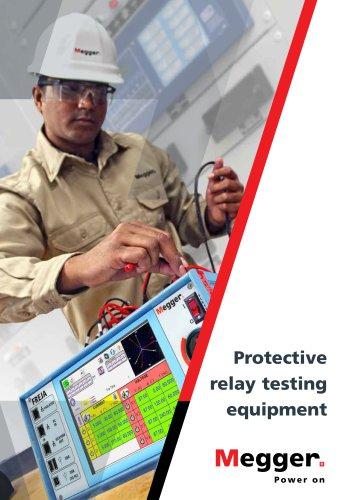 Protective relay testing equipment 2017 (FREJA)