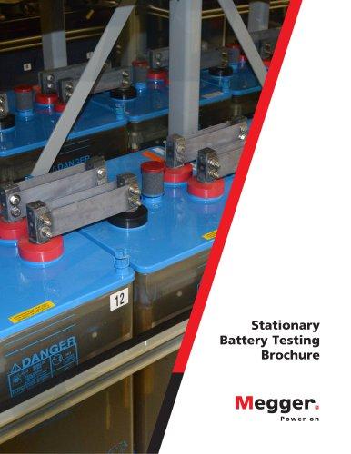 Stationary battery testing