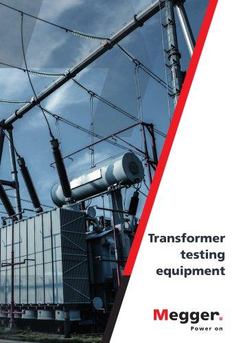 Transformer testing equipment catalogue