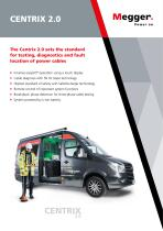 THE WORLD'S MOST MODERN AND POWERFUL CABLE TEST VAN SYSTEM | CENTRIX 2.0