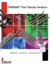 FIREBAR® Flat Tubular Heaters