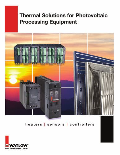 Thermal Solutions for Photovoltaic Processing Equipment