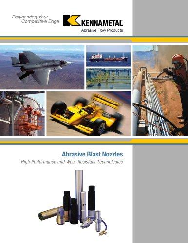 Abrasive Blast Nozzles Catalog