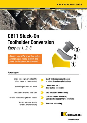 CB11 Stack-On