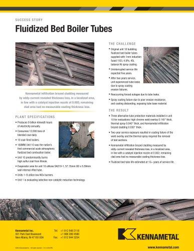 Fluidized Bed Boiler Tubes