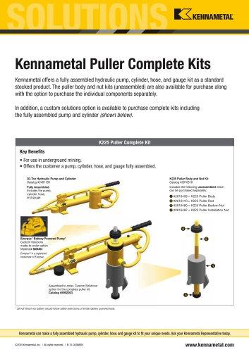 Kennametal Puller Complete Kits