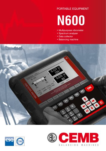N600 - PORTABLE EQUIPMENT