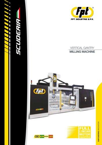 Dinox scuderia GANTRY VERTICAL MILLING MACHINE