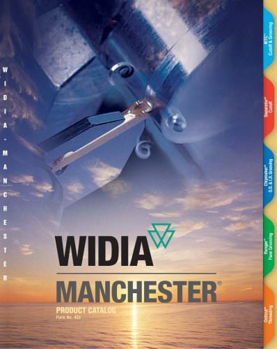 WIDIA-Manchester Products Master Catalog