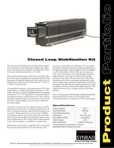 Closed Loop Stabilization Kit