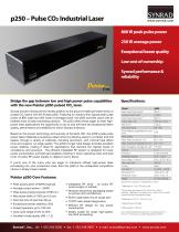 Pulstar p250 Pulse CO2 laser