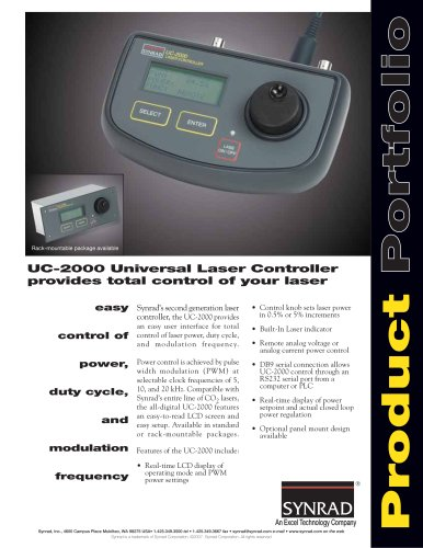Universal Laser Controller