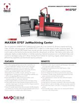 MAXIEM 0707 JetMachining Center
