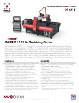 MAXIEM 1515 JetMachining Center