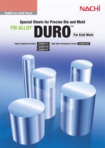 DURO for cold work