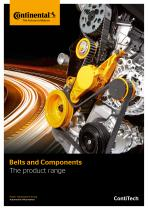 Belts and components