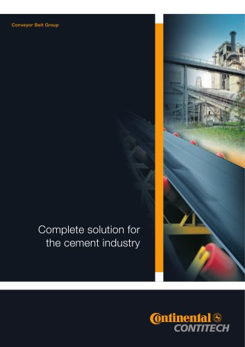Complete solution for the cement industry