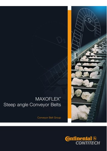 MAXOFLEX Steep angle Conveyor Belts