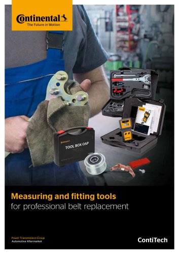 Measuring and Fitting Tools