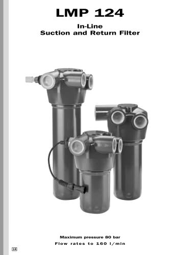 In-Line Suction and Return Filter