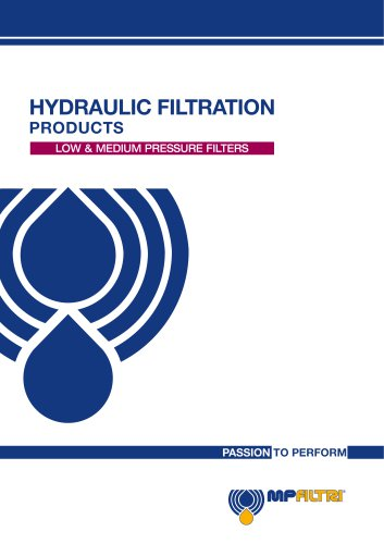 Low & Medium Pressure Filters