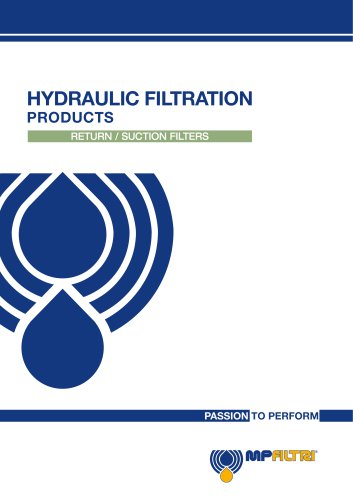 Return / Suction Filters