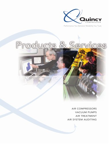 Quincy Full-line Products Brochure
