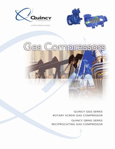 Quincy Natural Gas Compressors Brochure