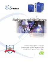 Quincy Refrigerated Air Dryers Brochure