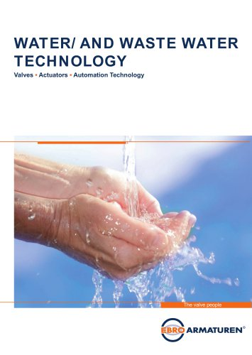 Water- and Wastwater technology
