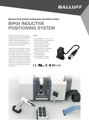 BIP04 INDUCTIVE POSITIONING SYSTEM