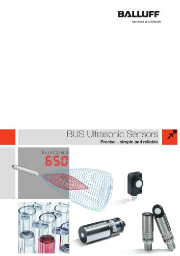 BUS Ultrasonic Sensors