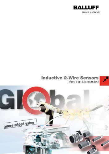 GlobalProx ... Inductive 2-Wire Sensors