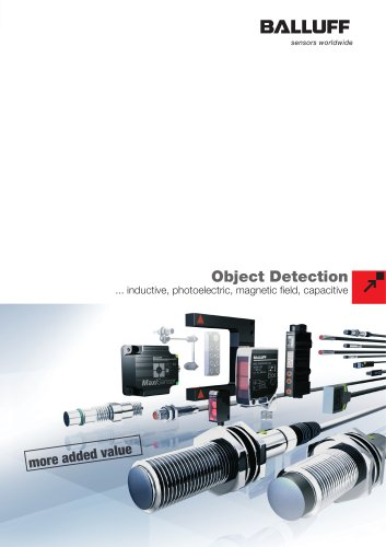 MAIN CATALOGUE - Magnetic Field Sensors - Object Detection page de 3.0.0 a 3.0.8