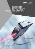 PRODUCTS FOR EFFICIENT AUTOMATION volume 1