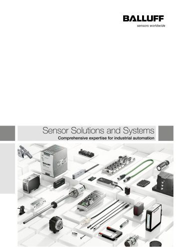 Sensor Solutions and Systems