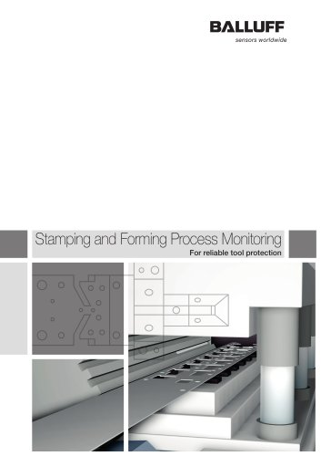 Stamping and Forming Process Monitoring