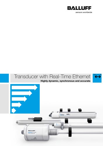 Transducer with Real-Time Ethernet
